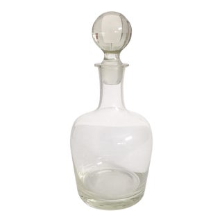 Tiffany & Co. Blown Crystal Decanter
