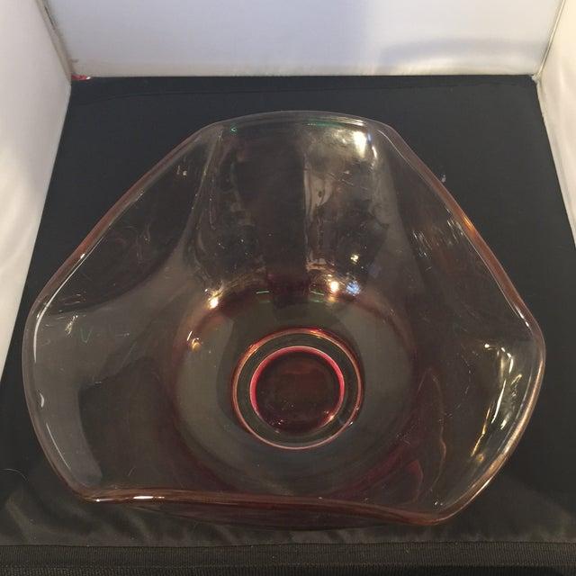 Vintage Glass Serving Bowl - Image 6 of 6