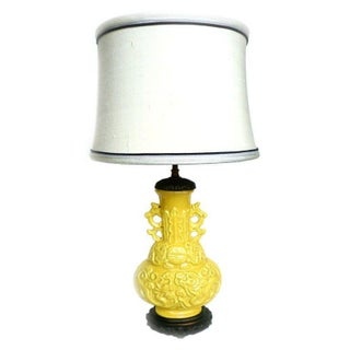Early 20th Century Chinoiserie Table Lamp
