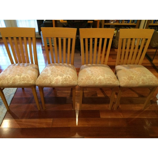 Image of A. Sibau Italian Vintage Dining Room Chairs - Set of 4