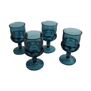 Kings Crown Water Goblets - Set of 4