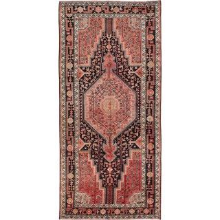 """5'3"""" x 11'6"""" Touserkan Vintage Persian Rug"""