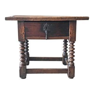 Antique Spanish Side Table, circa 1820
