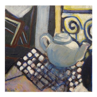 """Little Teapot"" Oil Painting"