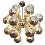 Image of Mid-Century Chrome Sputnik Chandelier