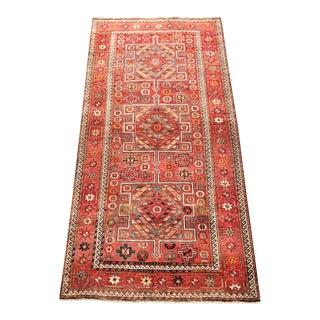"Vintage Persian Kelardasht Rug - 4'10""x10'2"""