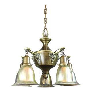 Original American Pan Light Fixture (5-Light)
