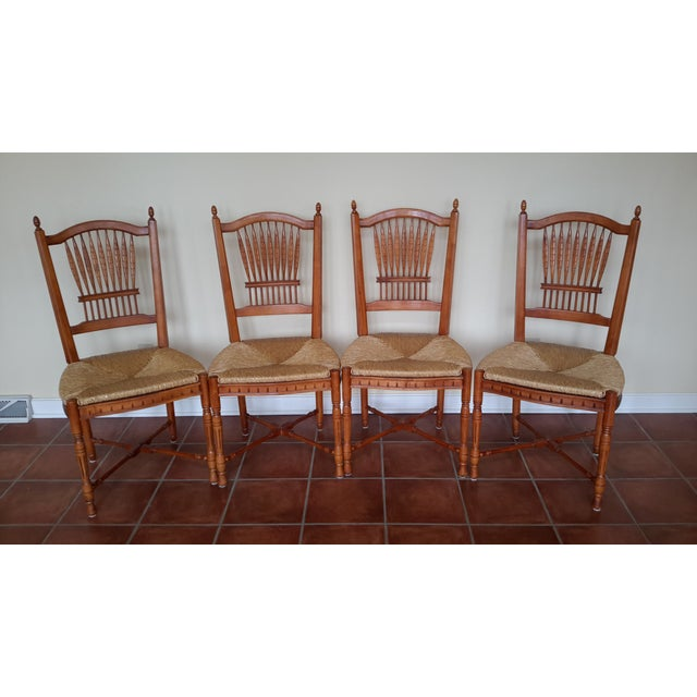 Lexington-Lynn Hollyn Sheaf Chairs - Set of 4 - Image 2 of 3