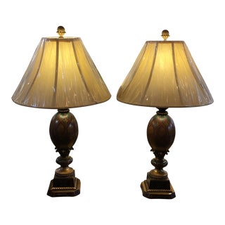 Kathy Ireland Table Lamps - A Pair