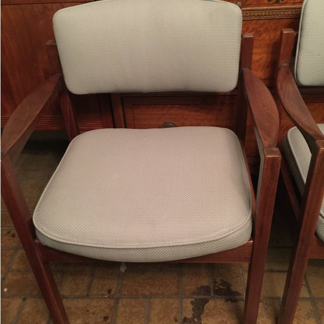 Danish Modern Armchairs - A Pair - Image 3 of 5