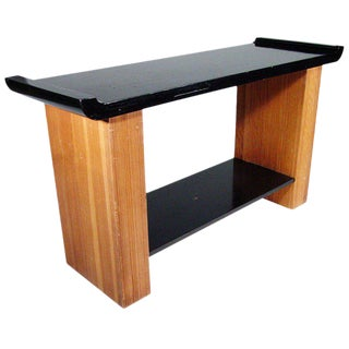 Paul Frankl Console Table for Johnson Furniture