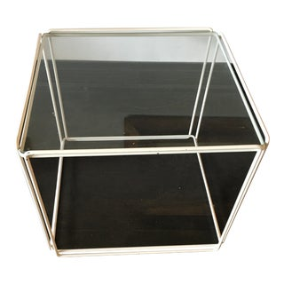 Max Sauze Isocele Metal End Table