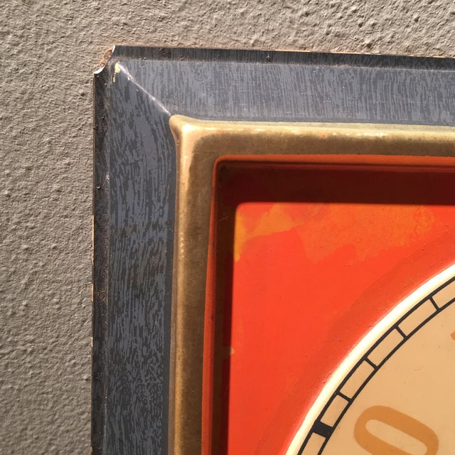 Vintage Nesbitts Orange Soda Clock - Image 6 of 7