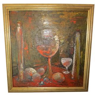 Abstract Expressionist Still Life, Circa 1960