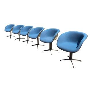 Eames Herman Miller La Fonda Chairs - S/6