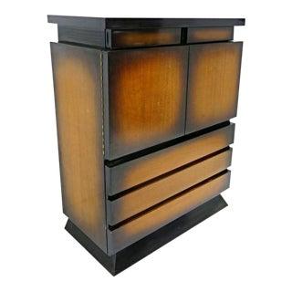 1950 Mid-Century Sunburst Cabinet