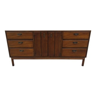 Vintage Nine Drawer Dresser or Credenza