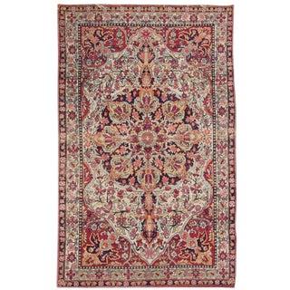 """Apadana - Antique Persian Kerman Rug, 4'2"""" x 6'9"""""""