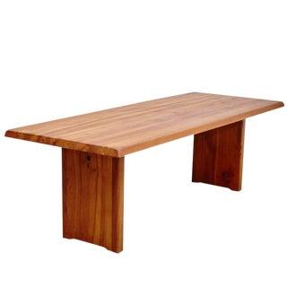 Pierre Chapo Large Dining Table 260cm, circa 1960