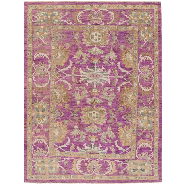 """Image of Wool Sultanabad Rug - 8' x 10'6"""""""