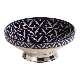 Mazagan Hand Painted Serving Bowl