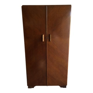 Vintage Art Deco Homeworthy Fitrobe Armoire Closet