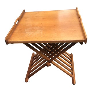 Stewart MacDougall Drexel Folding Tray Top Table