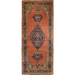 Antique Persian Bidjar Gallery Rug