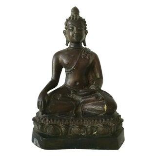 Antique Bronze Buddha Figurine