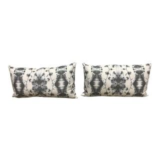 Eskayel Watercolor Lumbar Pillows - A Pair