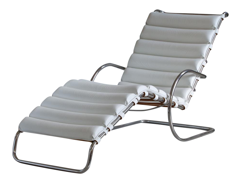 Mies van der Rohe MR Chaise Lounge for Knoll  sc 1 st  DECASO : chaise lounge chicago - Sectionals, Sofas & Couches