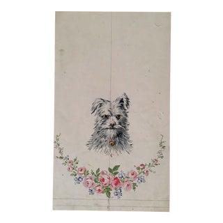 French Tough Dog Print