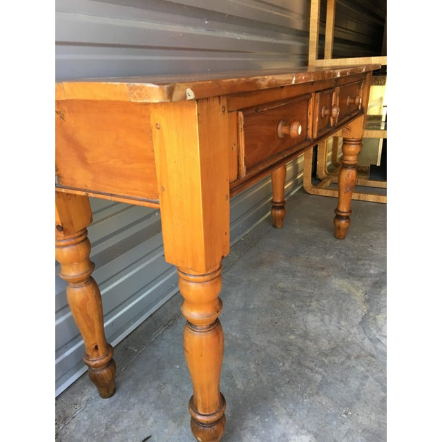 Rustic Handmade Console Table - Image 11 of 11