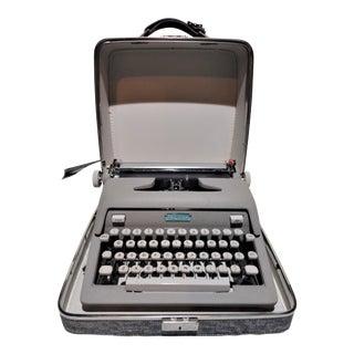 Royal Heritage Gray Portable Typewriter