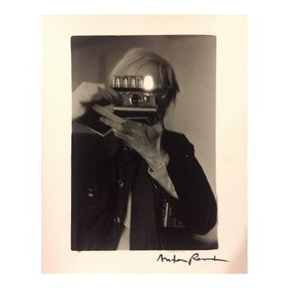Warhol Polaroid, 1973