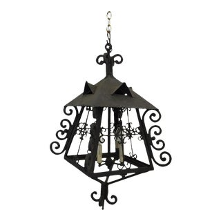 Antique French Iron Lantern