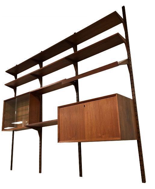 Modern Modular Shelving vintage & used mid-century modern wall-mounted shelving | chairish
