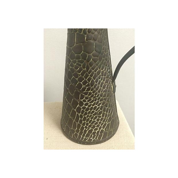 Image of Aged Copper Snakeskin Jug