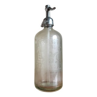 Antique Excelsior Bottling Co Seltzer Bottle