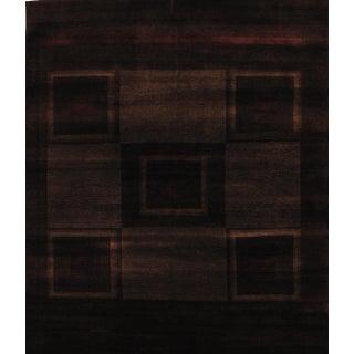 "Pasargad Gabbeh Wool Area Rug- 6'6"" X 8'"