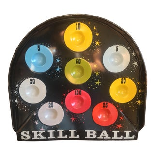 Vintage Skill Ball Game Board
