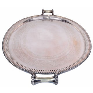 James Dixon & Sons for Sheffield Silver-Plate Tray