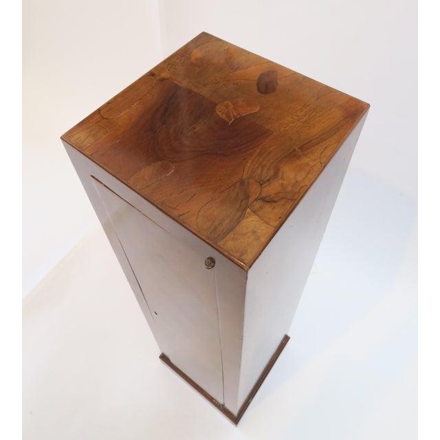 Traditional Burlwood Pedestal - Image 5 of 8