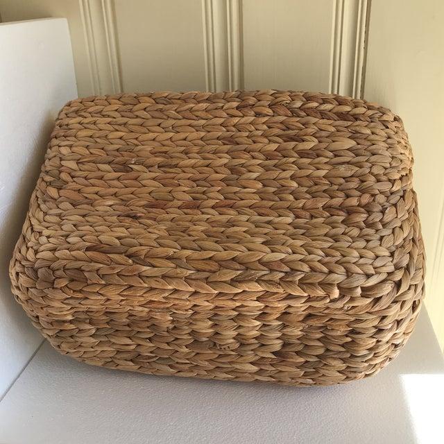 Boho Seagrass Rope Basket - Image 6 of 8