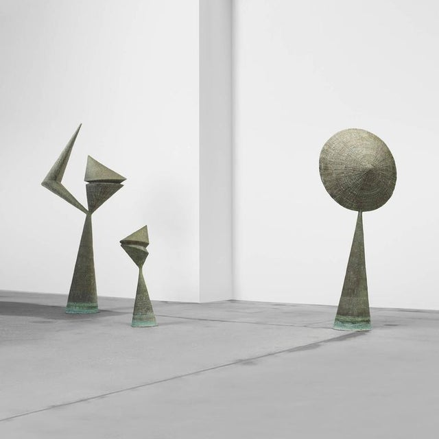 Important Harry Bertoia Sculptures from Stemmons Towers, Dallas - Image 2 of 4