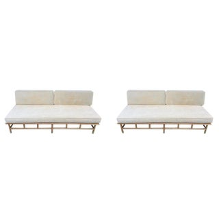 Ficks Reed Bamboo Couches - A Pair