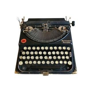 Early-1900s Remington Portable Typewriter & Case