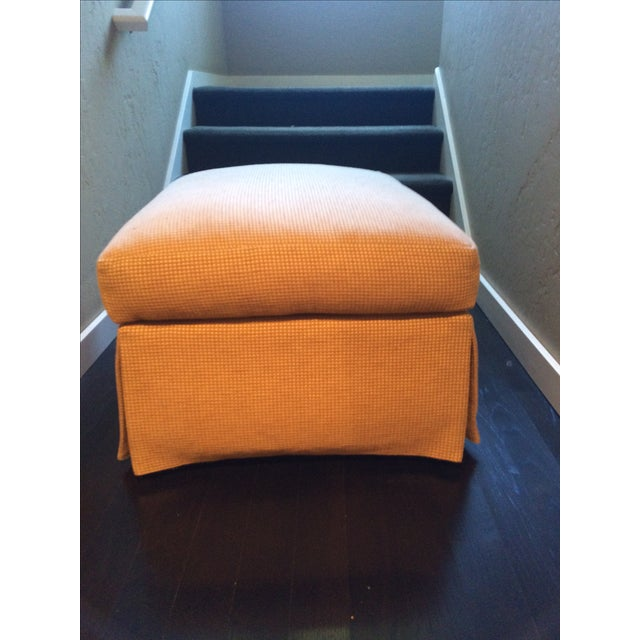 Barbara Barry Baker Lounge Chair & Ottoman - Image 8 of 8