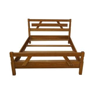 Brandt Ranch Oak Rustic Full Size Bed