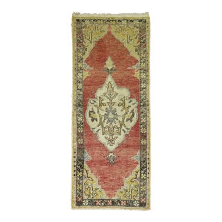 Vintage Turkish Oushak, 2'3'' x 5'4''